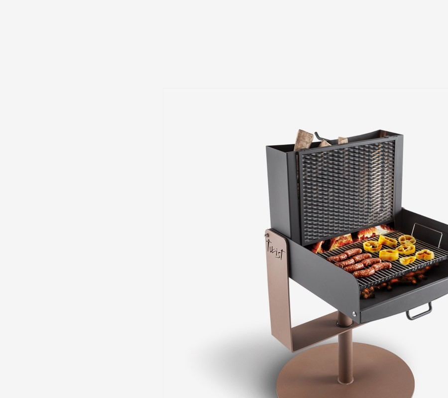 Barbecue in Metallo